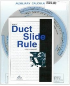 DUCTULATOR SLIDE RULE-AIR CONDITIONING CONTRACT OF AMERICA